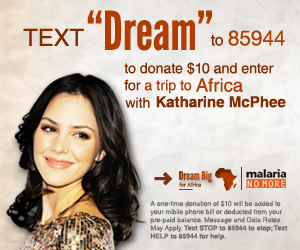 Action Campaign – Spread the Word About Malaria No More's 'Dream Big for Africa' Campaign