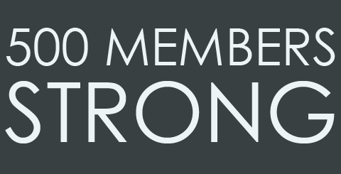 500 Members Strong
