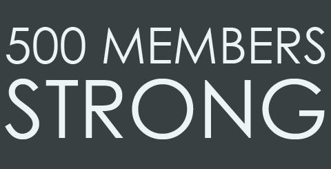 500 Members Strong #socialgoodmoms