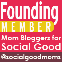 Mom Bloggers For Social Good founding member badge