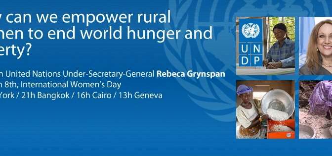 How can we empower rural women to end extreme poverty?