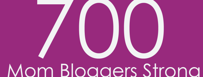 700 Mom Bloggers Strong!
