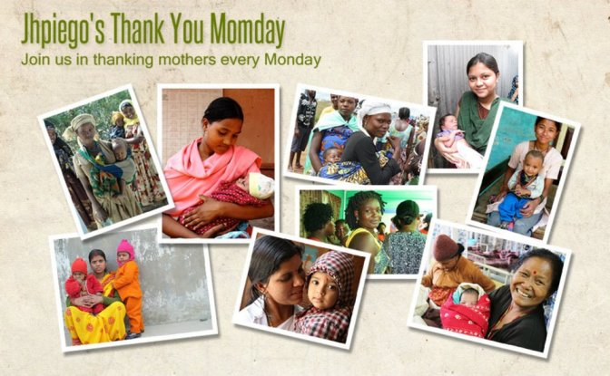 Why Jhpiego is Honoring Moms Every Monday