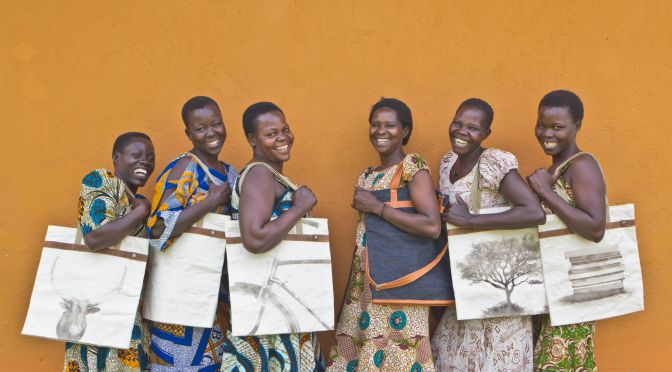 Ugandan Women Craft for Economic Stability