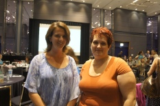 Meeting mom bloggers at the Brands and Bloggers Summit in Chicago - July 21, 2012