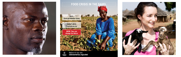 Join Kristin Davis and Djimon Hounsou on Sahel Relief