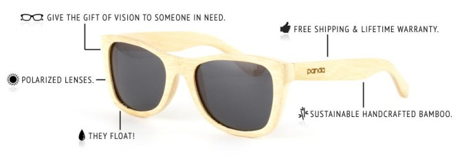Bamboo Sunglasses for Good