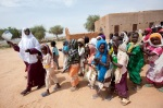 UNAMID opens new schools and a clinic in Kuma Garadayat, North Darfur.