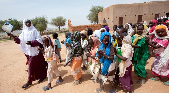 Quick Impact Project Provides Education for Darfur Children