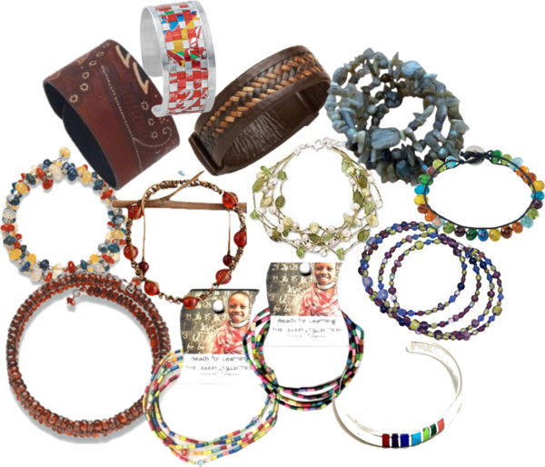 12 Gorgeous Fair Trade Bracelets