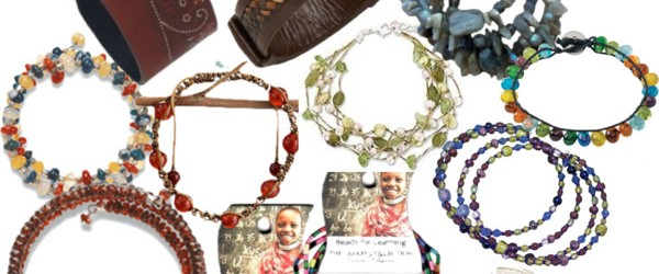 12 Gorgeous Fair Trade Bracelets