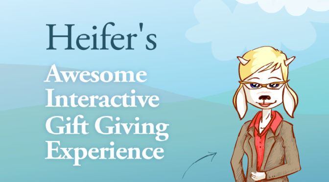 Heifer International Teaches Children About Giving