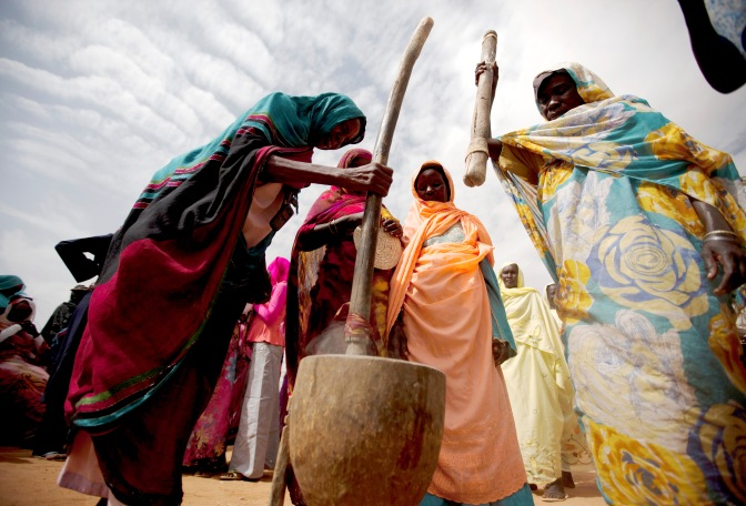 Helping Women In Darfur Become Self-Sufficient