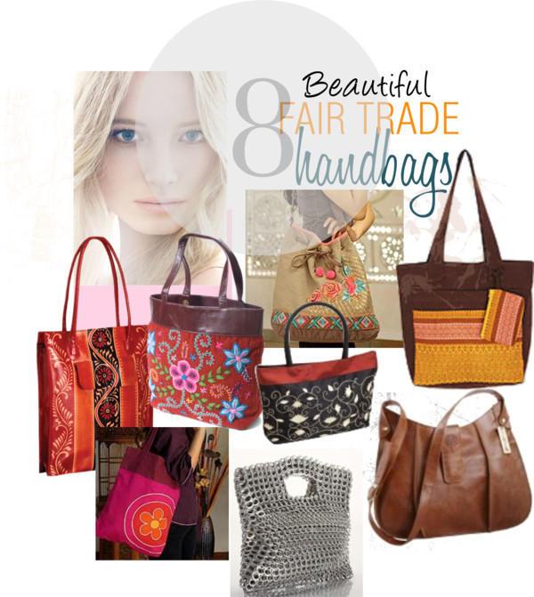 8 Beautiful Fair Trade Handbags