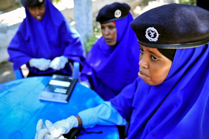 AMISOM's humanitarian mission in Somalia.