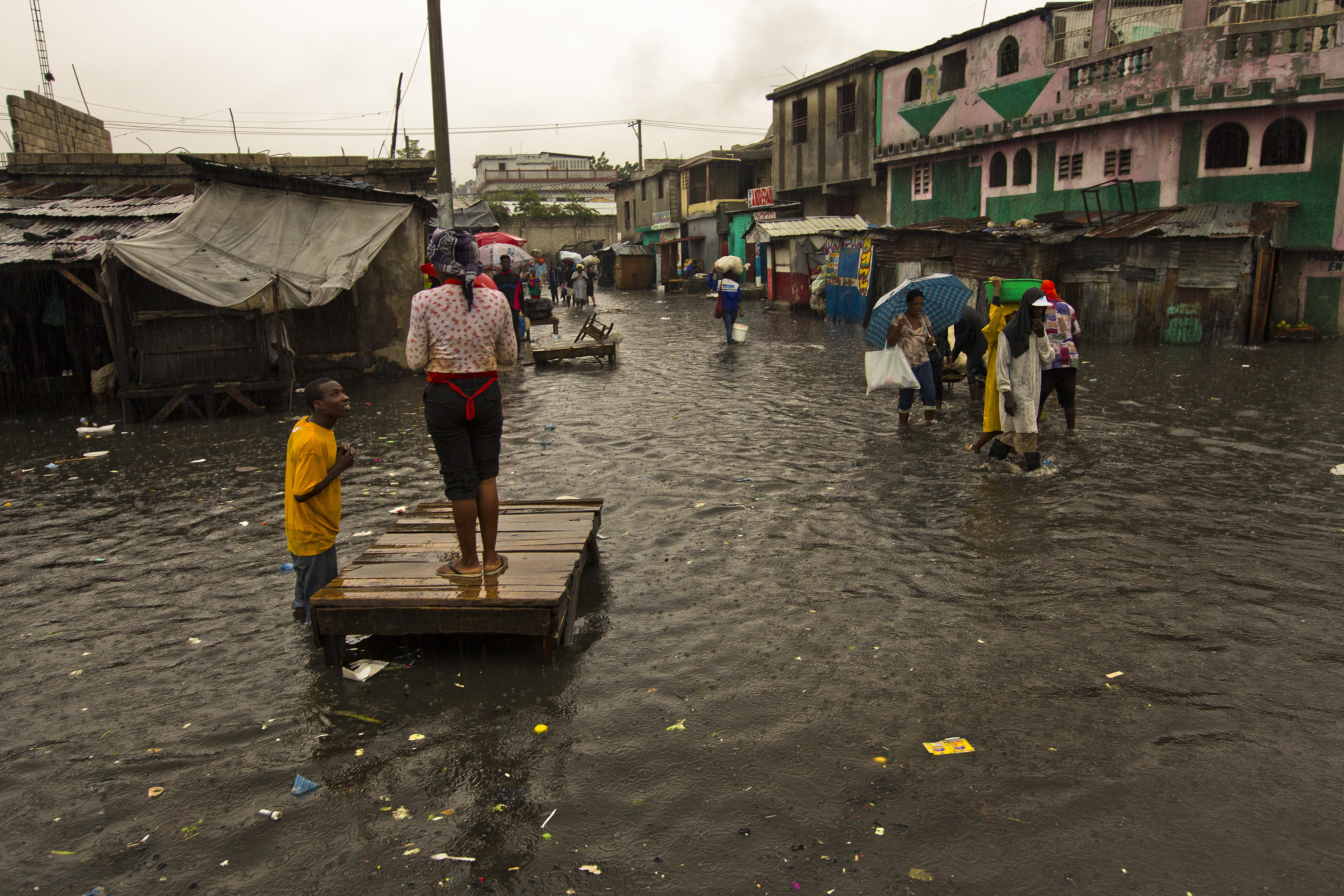 Resilience, suffering and silver linings after a disaster