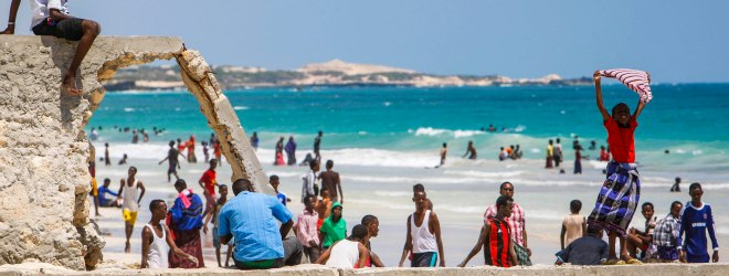 A Return to Normalcy: Mogadishu's Lido Beach Lively Again