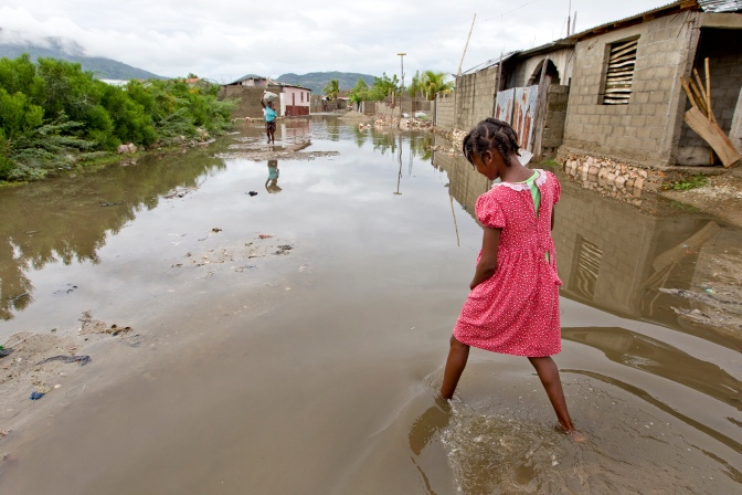 Cholera Outbreak in Haiti in the Wake of Hurricane Sandy