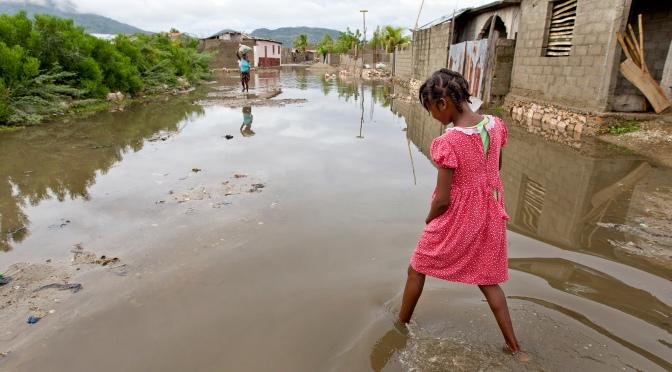 Cholera Outbreak in Haiti in the Wake of Hurricane Sandy