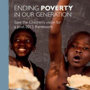 Ending Poverty in Our Generation