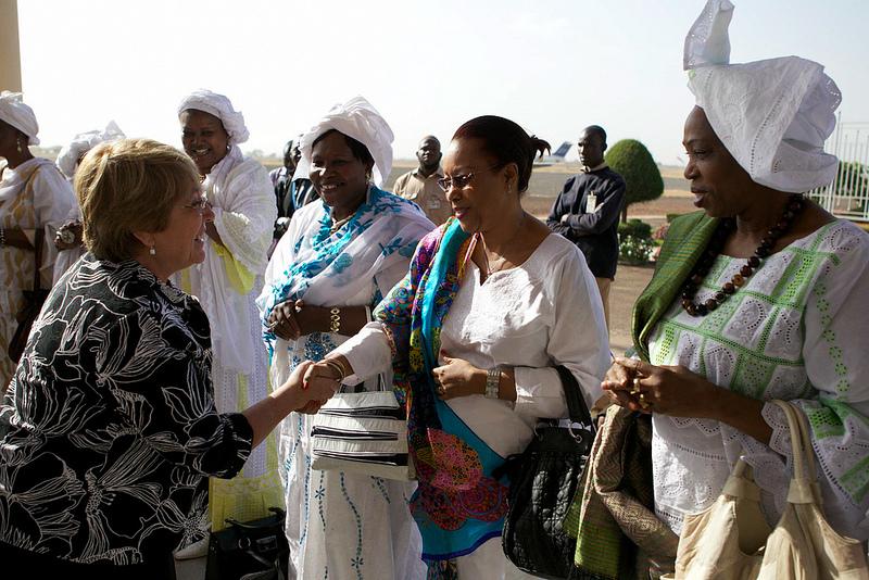 UN Women Executive Director Michelle Bachelet visits Mali