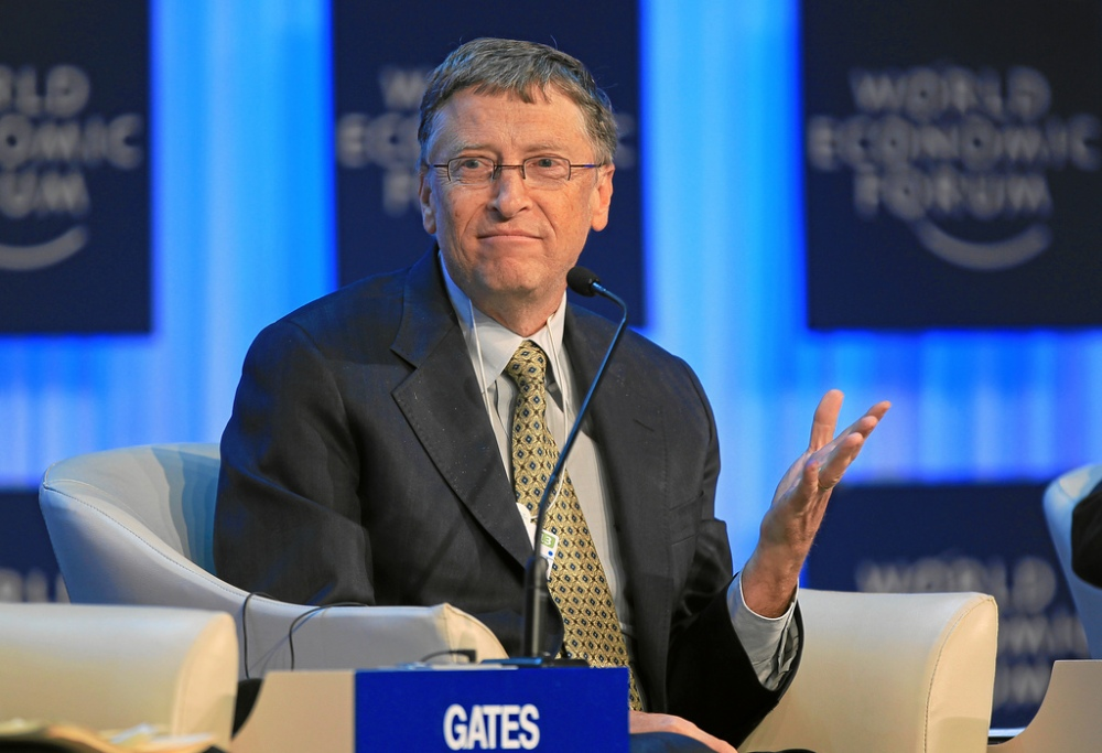 Bill Gates at the World Economic Forum