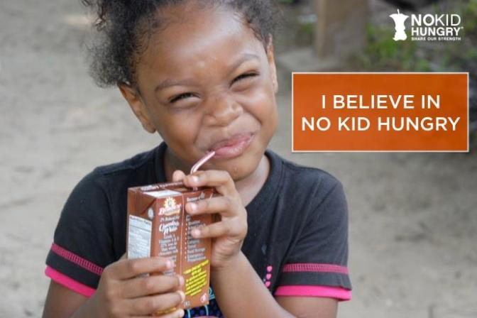 Our Newest Partner: No Kid Hungry