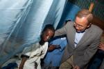Secretary-General Ban Ki-moon visits  Ambo Mesk Health Post in Bahir Dar, Amhara Regional State, Ethiopia.
