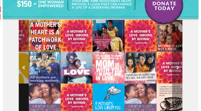 Opportunity International Creates Mother's Day Virtual Quilt