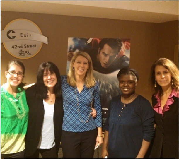 Meeting With Save the Children - We Can Be Heroes event