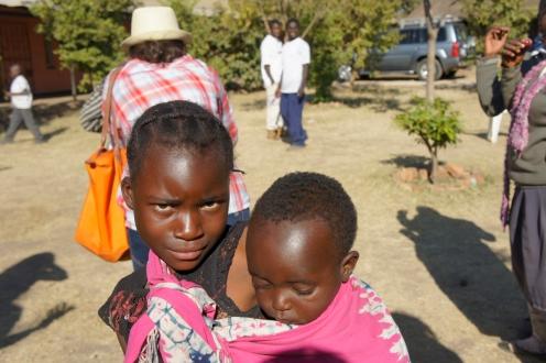 Street Children at the Fountain of Hope center- Lusaka