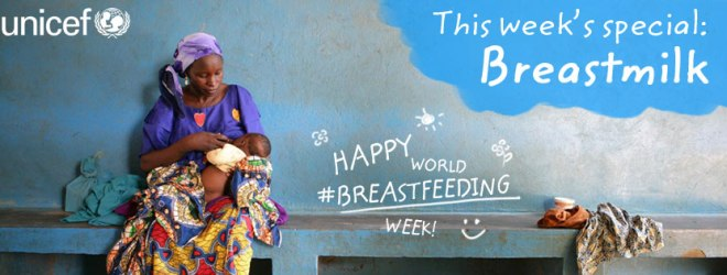 UNICEF Features Fantastic Breastfeeding Images
