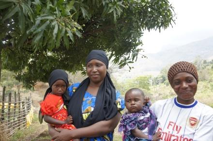 Mother and Daughter in Morogoro, Tanzania