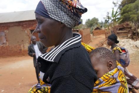 Mother and Son in Iringa, Tanzania