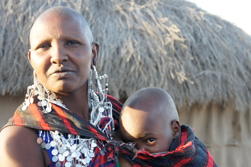 Maasai Mother - Mkuru