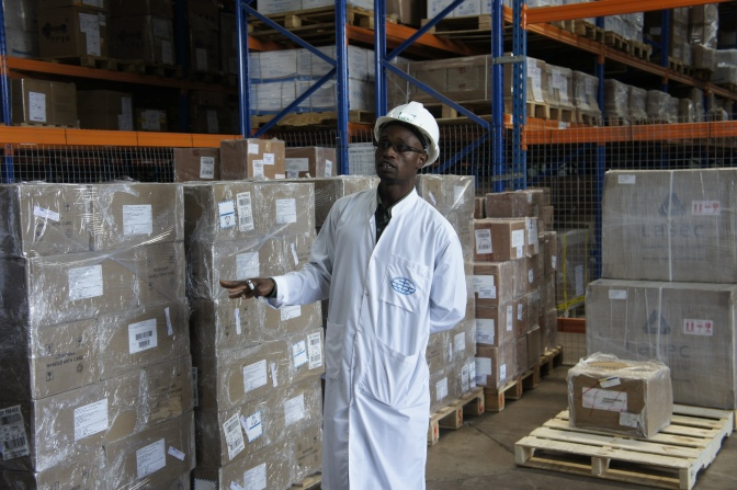 [Photos] Walking Through a Medical Supplies Warehouse in Zambia