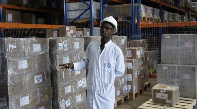 [Photos] Walking Through a Medical Supplies Warehouse in Zambia