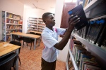 Opening Ceremony of the rehabilitation of the library in El Fasher