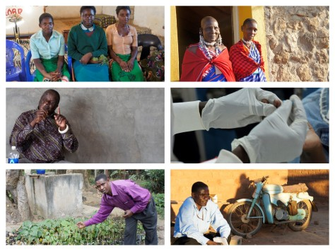 Tanzania and Zambia