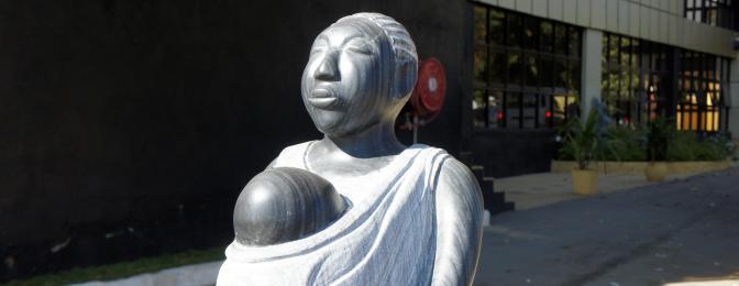 Motherhood Statue