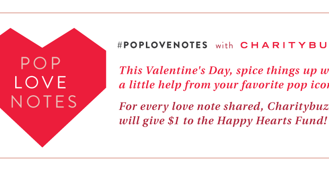 Give for Valentine's Day Through Social Sharing