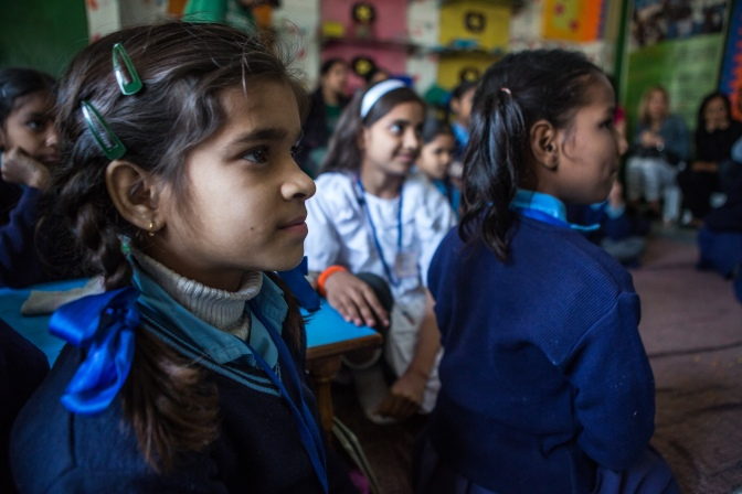 How One Philanthropist is Changing Lives for India's Women and Girls