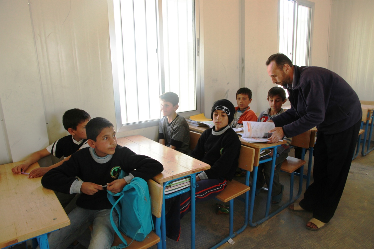 Mohammed's Story: Teaching in Zaatari Refugee Camp in Jordan