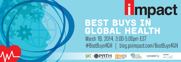 New This Week: Global Health Best Buys Panel