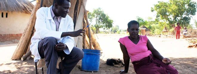 Meet Dismus Mwalukwanda, a Community Health Worker in Zambia #WHWWeek