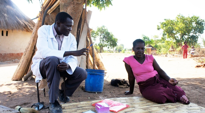 Meet Dismus Mwalukwanda, a Community Health Worker in Zambia #WHWWeek