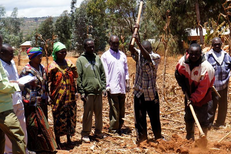 Farmer training in Magulilwa village in Iringa District, Tanzania