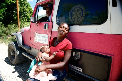 Midwives for Haiti Mobile Clinic 2014 (5)