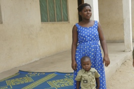Single Mother Who Now Receives Family Planning Services