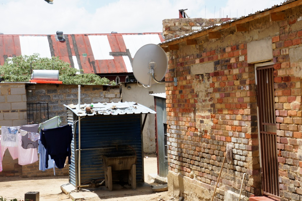 Community toilet - Alexandra Township - Johannesburg, South Africa